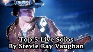 Gambar cover SRV Top 5 Live Guitar Solos
