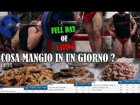 FULL DAY OF EATING ITALIA #2 | COSA MANGIO IN UN GIORNO ? Periodo Di Massa
