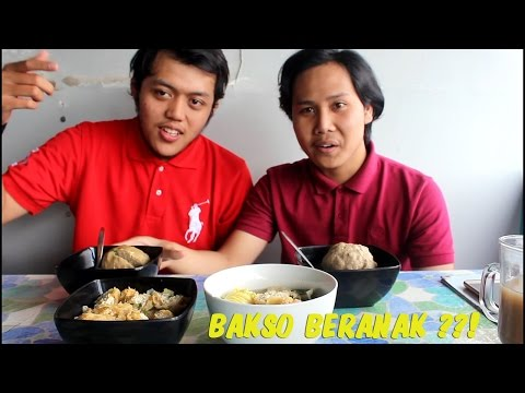 Bakso Beranak KELENGER!! - Malang Food Review
