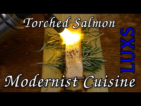 Torched Salmon, Modernist Cuisine