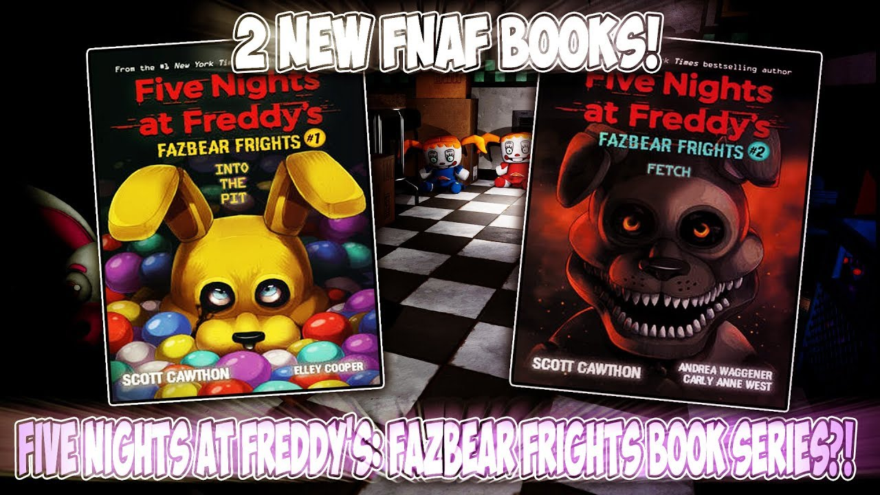 New Fnaf Book Teasers Five Nights At Freddy S Fazbear Frights Youtube