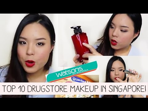 Top 10 Drugstore Makeup Products In Singapore!