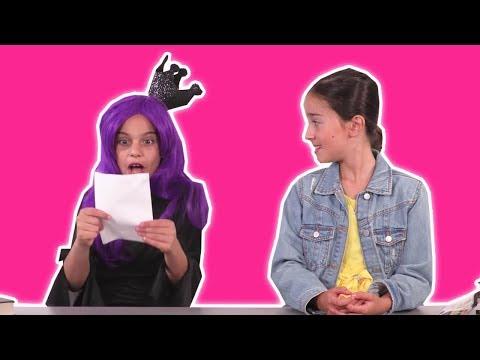 Malice Steals Lilliana's Homework at Princess School 🏫 Princesses In Real Life | Kiddyzuzaa