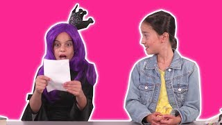 Malice Steals Lilliana's Homework at Princess School 🏫 Princesses In Real Life | Kiddyzuzaa