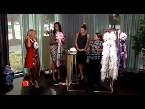 McShan Florist Helps The Broadcast Hosts In A Homecoming Mum Throwdown!