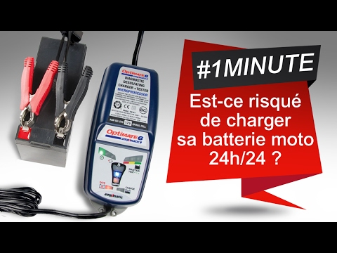 Peut on laisser une batterie moto en charge 24h 24 youtube - Maintien de charge batterie ...