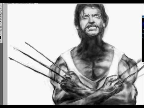 Draw dessin wolverine youtube - Wolverine dessin ...