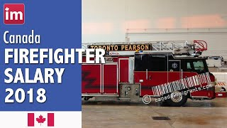 Firefighter Salary in Canada (2018) - Wages in Canada