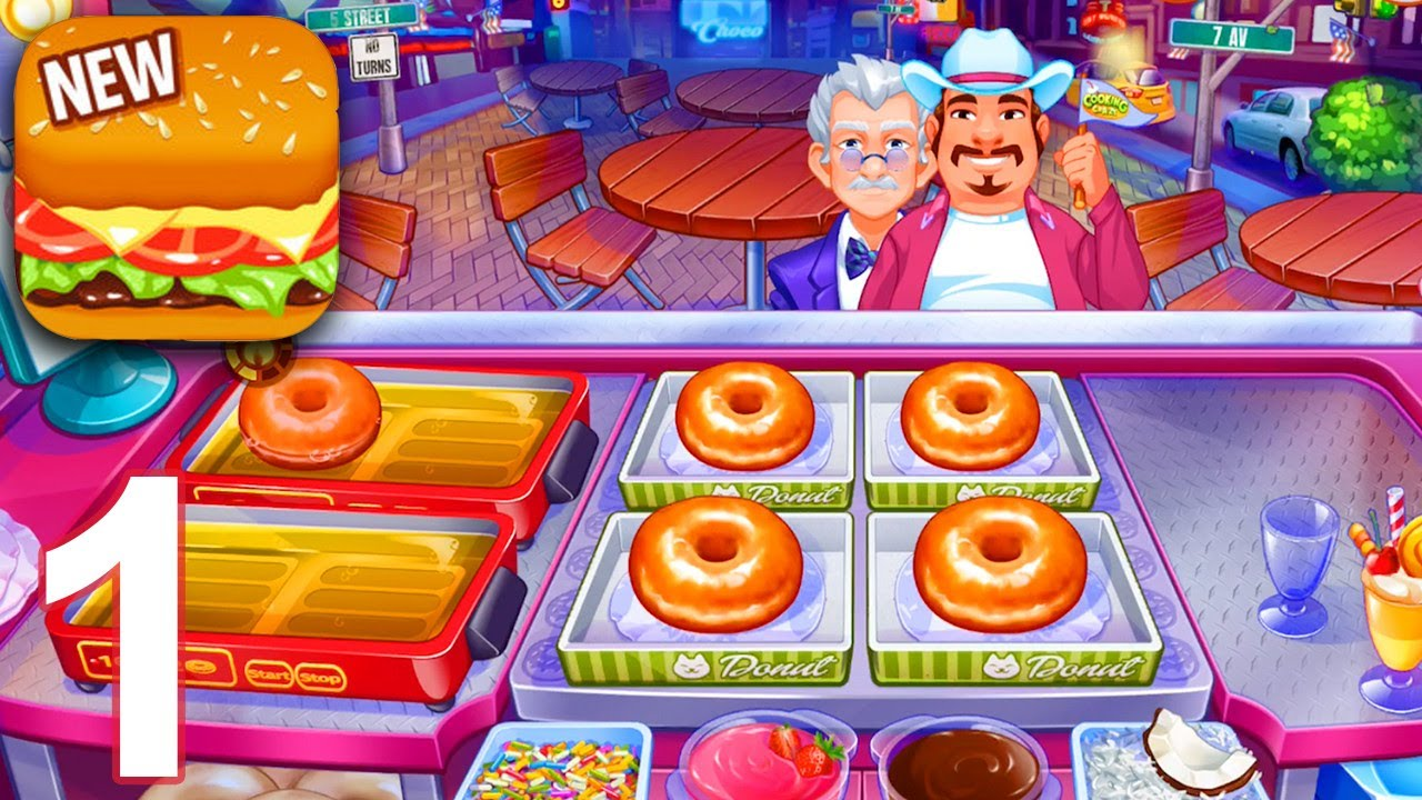 Cuisine Gameplay Cooking Craze Gameplay Part 1 Levels 1 10 Ios Android