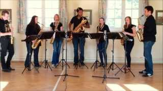 Scarborough Fair – saxophone ensemble (septet)