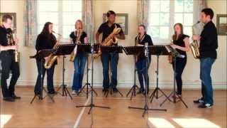 Scarborough Fair – saxophone ensemble (septet)