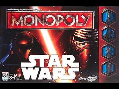 Film- & TV-Spielzeug Star Wars Brettspiel Monopoly *Deutsche Version*