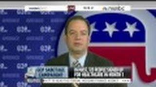 Reince Priebus Laughs at MSNBC