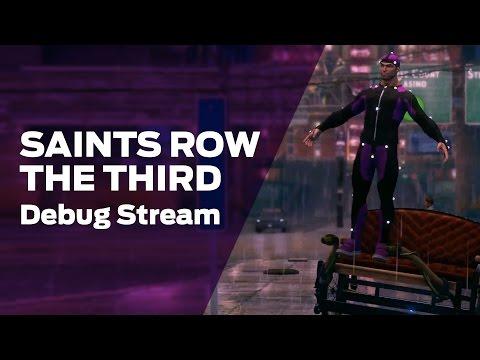 Volition plays Saints Row: The Third Dev Build II