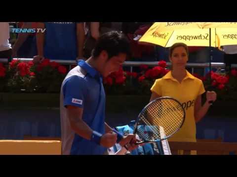 Yuichi Sugita upsets Gasquet   Barcelona Open 2017 Day 2