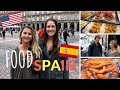 The Abroad Perspective: Food in Spain / Spanish vs American traditions| Vlogs