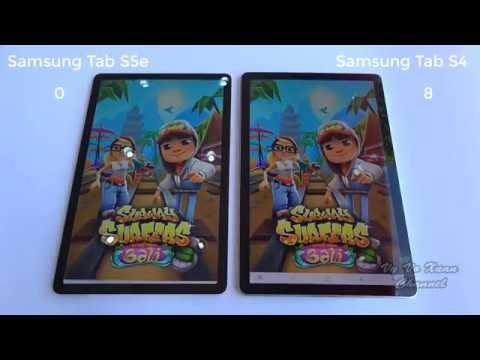 Compare Samsung Galaxy Tab S5e And Samsung Galaxy Tab S4
