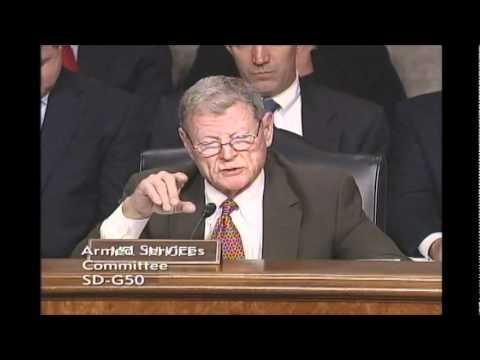 Inhofe Presses Pentagon Leaders on Defense Cuts