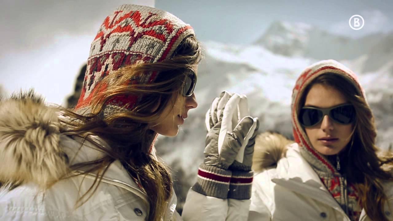 Стильные горнолыжные костюмы женские 2014