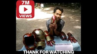 Review Iron man Gauntlet Mark 42/43 HD details life size scale