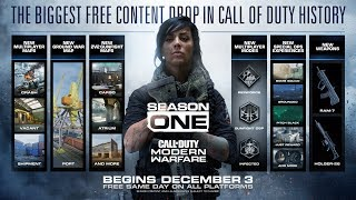 The SEASON 1 UPDATE in Modern Warfare is Huge..