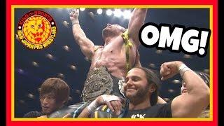 Reaction   KENNY OMEGA WINS THE IWGP HEAVYWEIGHT CHAMPIONSHIP AT NJPW DOMINION 2018!!!
