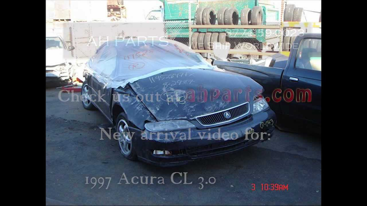 Acura CL Parts AUTO WRECKERS RECYCLERS Ahpartscom Honda - Acura cl 1997 parts