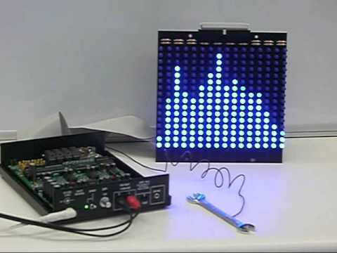 Audio Spectrum Analyzer Kit with Display and Enclosure
