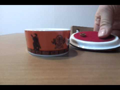 ceramic music box NHK