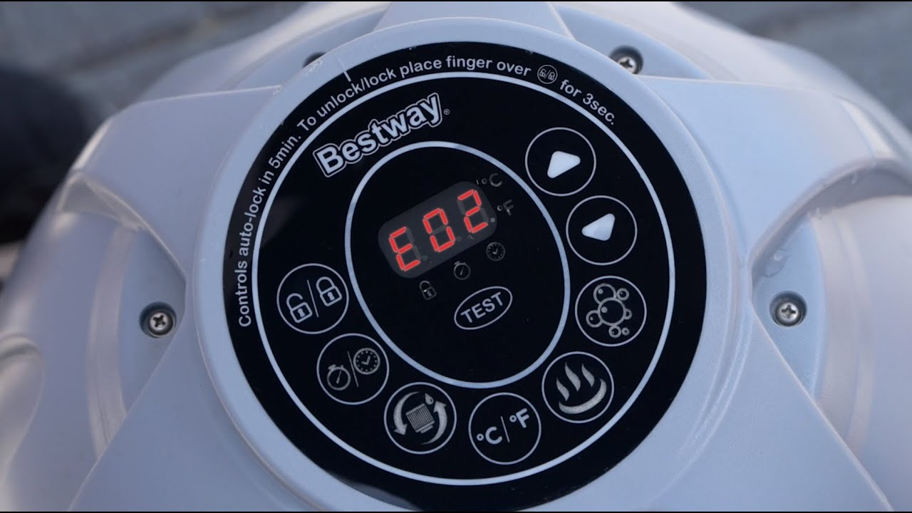 Bestway Pool Bung Stoppers Lay Z Spa How To Fix An Eo2 Error