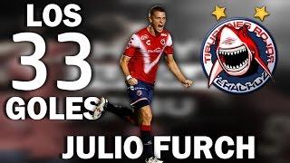 Los 33 goles de Julio Furch con Tiburones Rojos