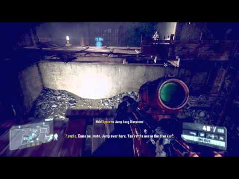 Crysis 3 - Hold Space to Jump Long Distances (1080p)