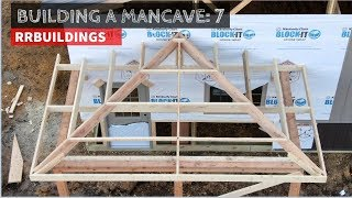 Gambar cover Building a Mancave 7:  Framing a hipped porch