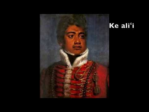 Anthem of the Kingdom of Hawaii (Hawaiʻi ponoʻī)