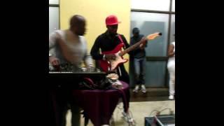 Pheko The Guitarist Performing on Marshalboys namba namba (Emo Boys Remix)