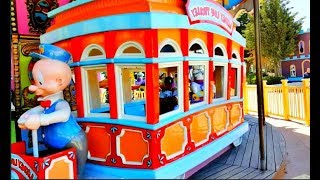 Kids Have Fun Ride on Carousel