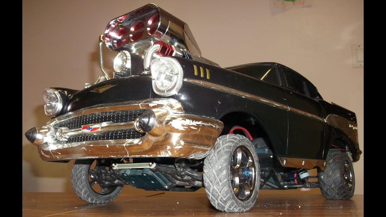 Custom Traxxas Slash VXL based 57 Chevy