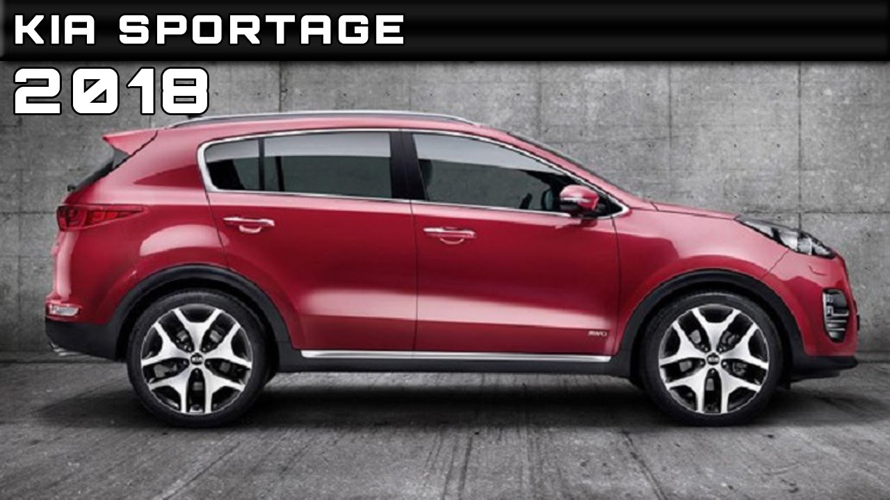 2018 kia sportage review rendered price specs release date youtube. Black Bedroom Furniture Sets. Home Design Ideas