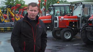 AgriLand spots an 'exceptional' Massey Ferguson 390...in Johnstons Farm Equipment (Longford)