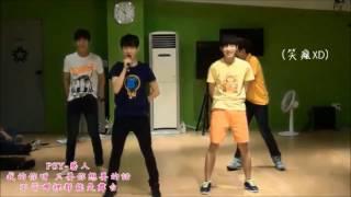 [中字] 17TV 讓權老師崩潰的舞蹈表演