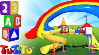 TuTiTu Englisch Lernen | Farben lernen auf Englisch für Kinder | Spielplatz