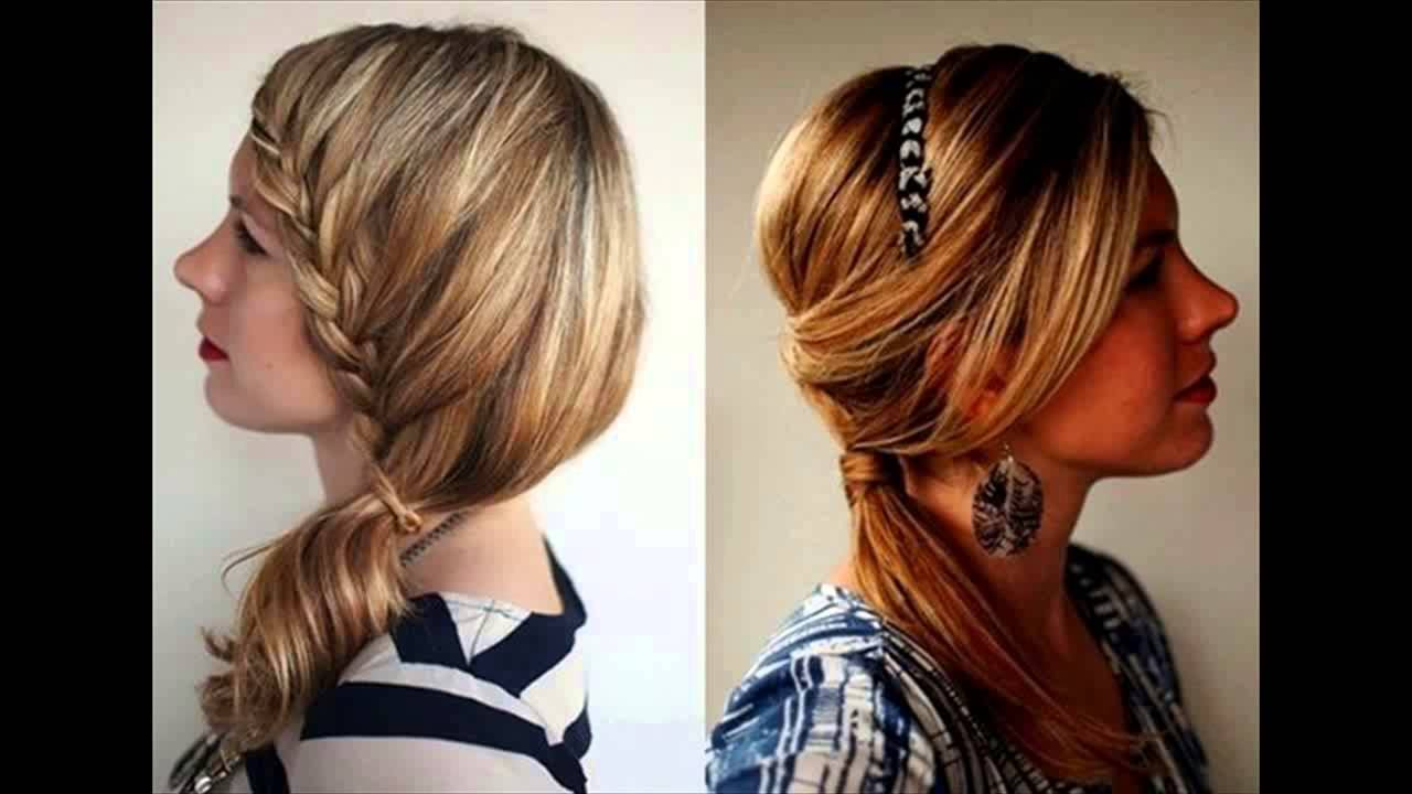 Latest 10 Different Types Of Hairstyles For Girls Youtube