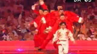 雅典奥运会闭幕式中国8分钟-Athens closing ceremony