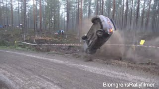 East Sweden Rally 2018 Crashes & Action