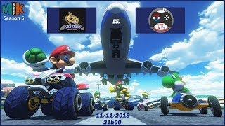 [Mario Kart 8 Deluxe] Amplify - Golden Axolots vs. Team Luxembourg 136#