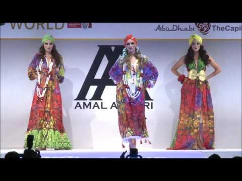 Amal Azhari SS2017 Indiana Collection Fashion Show Abu Dhabi