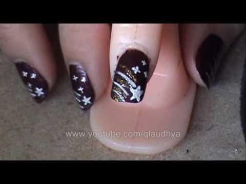 Estrella Fugaz Tutorial De Uñas Youtube