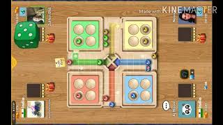 Ludo  king online 4 player best online Ludo game 2020 | Ludo gameplay #9