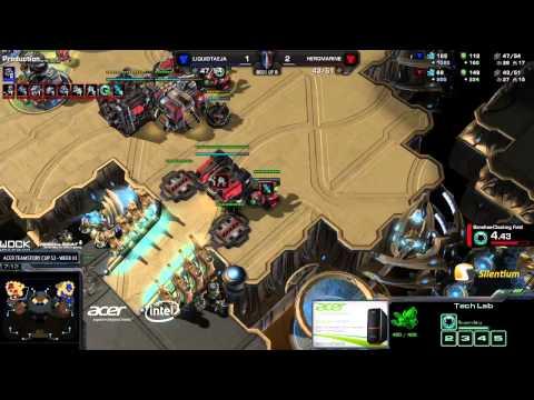 [ATC] Taeja vs HeroMarine -g4- Starcraft 2 HD polski komentarz Heart of the Swarm