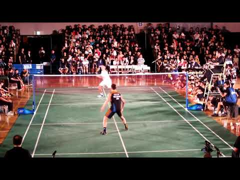 Lin Dan vs Lee Chong Wei   Friendly Match Badminton